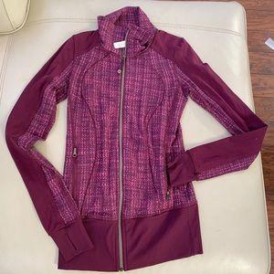 Lululemon RARE PLUM forme jacket full zip xs 2